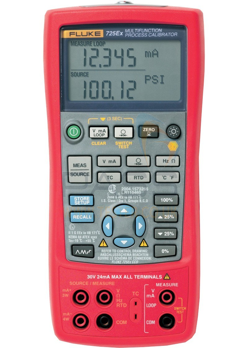 Fluke 725Ex Multi-Function Process Calibrator