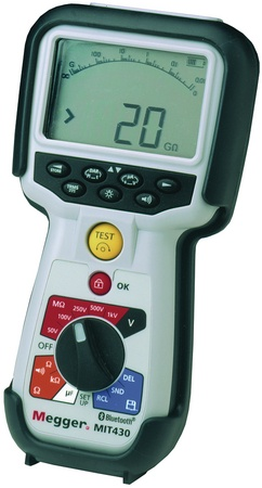 Megger MIT430 Insulation Tester