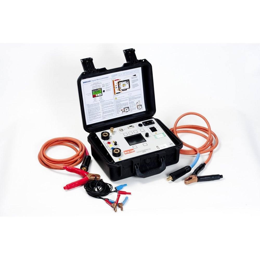 T&R DMO200 Digital Micro Ohmmeter