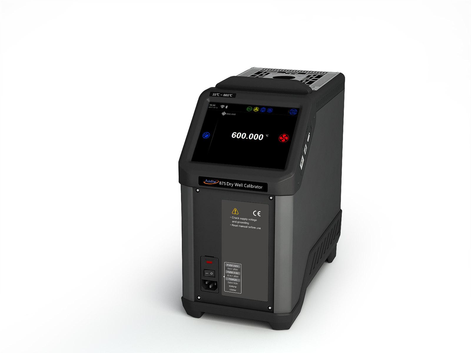 Additel 875-155 and 875-660 Dry Well Calibrators