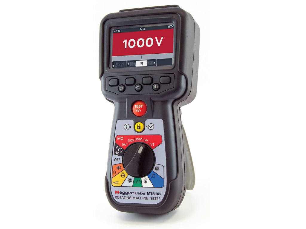 Megger MTR105 Rotating Machine Tester